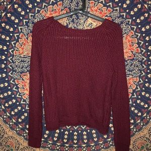 BRANDY MELVILLE: Maroon Sweater